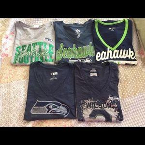Seattle Seahawks T-shirt lot